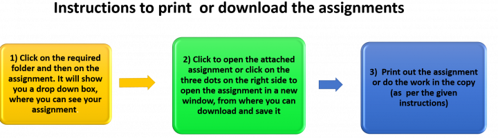 Instructions to Print or download the assignment